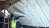 Spray Foam insulation – saver of energy, sound and structure of the house