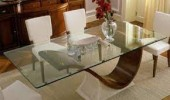 Glass table tops: Advantages,glass options and maintenance